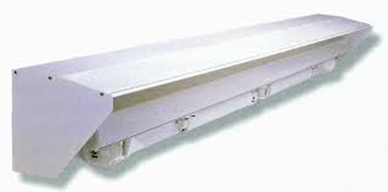 Visera protectora de aluminio toldos taial for Tubos de aluminio para toldos
