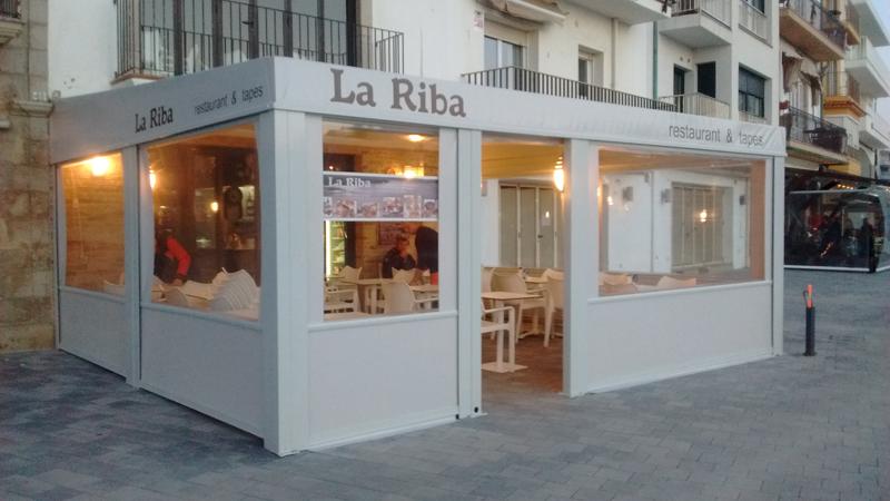 Proyecto terraza restaurante toldos taial - Toldos taiala ...
