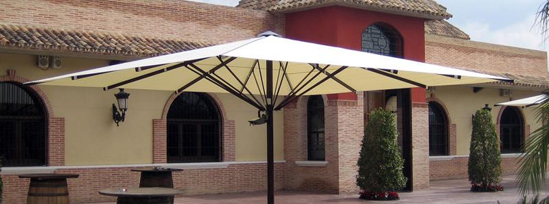 Aluminium parasols awnings taial - Toldos taiala ...